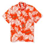 San Francisco Giants Aloha Mlb Orange Hawaiian Shirt