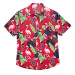 Boston Red Sox Mlb Men'S Floral Hawaiian Shirt