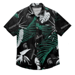 Michigan Sate Spartans Ncaa Palm Men'S Hawaiian Shirt