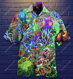 Octopus Trippy Hawaiian Shirt