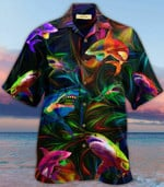 Animals Shark Hawaiian Gift For Men Shirt