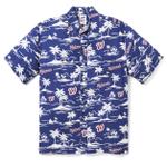 Washington Nationals Vintage Mlb Hawaiian Shirt