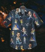Gettyshirt  The Queen Rhapsody Nv1092 Vintage Cotton Mens Hawaiian Shirt