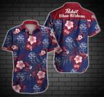 Pabst Blue Ribbon Style 4 Hawaiian Shirt