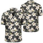 Tropical Toucans Hibiscus Palm Leaves Hawaiian Shirt