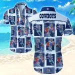 Nfl Dallas Cowboys Hawaiian Shirts Trendy Tropical T-Shirts
