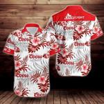 Coors light beer logo Hawaiian Shirt