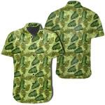 Tropical Green Hawaiian Shirt