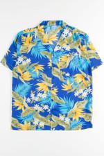 Birds Of Paradise Floral Hawaiian Shirt