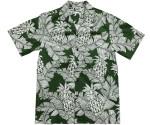 Pineapple Days Green Hawaiian Shirt