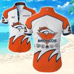 Nfl Denver Broncos Hawaiian Shirt Tropical Shirt Mens Floral Button Up Shirt