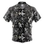 Collingwood Magpies Hibiscus Hawaiian Shirt