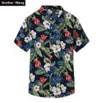 Summer New Men'S Short Sleeve Shirt Fashion Casual Hawaiian Shirt
