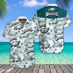 Philadelphia Eagles Tropical Hawaiian Shirt