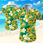 Nhl California Golden Seals Hawaiian Shirt