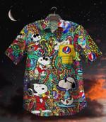 Gettyshirt  Hot Tropical Vintage Grateful Dead Cotton Mens Hawaiian Shirt