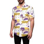 Minnesota Vikings Nfl The National Football League Men'S Winter Tropical Hawaiian Shirt