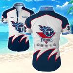 Nfl Tennessee Titans Hawaiian Shirt Tropical Shirt Mens Floral Button Up Shirt