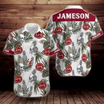 Jameson Tropical Flower Short Sleeve Hawaiian Shirt