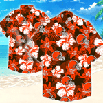 Cleveland Browns Nfl Tommy Bahama Hawaiian Shirt