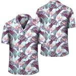 Tropical Monstera Leaf Hawaiian Shirt