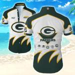 Nfl Green Bay Packers Hawaiian Shirt Tropical Shirt Mens Floral Button Up Shirt