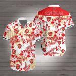 Arsenal Hawaiian Shirt