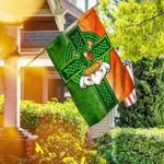 Saint Patricks Day Irish Celtic Cross Flag