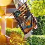 Arizona State Eagle American Flag