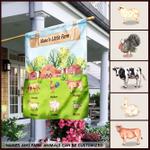Personalized Little Farm Animal Flag