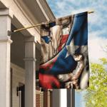 Texas Longhorn Flag