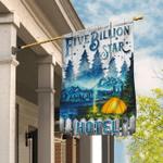 Five Billion Star Hotel Camping Flag