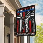 American Weightlifting Flag