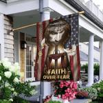 Jesus, My Lord, My God. Faith Over Fear American Flag