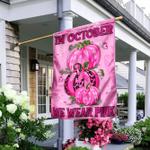In October We Wear Pink Flag