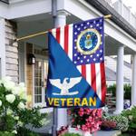 United States Air Force American Veteran US Flag