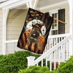 German Shepherd Halloween Flag