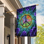 Hippie Just A Little Something To Brighten Your Day Flag