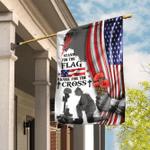 Veteran Stand For The Flag Kneel For The Cross Flag