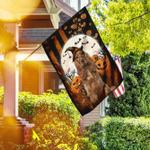 Cocker Spaniel Happy Halloween Flag