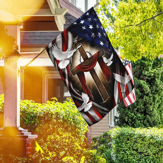 In God We Trust American Flag