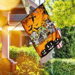 Sugar Skull Halloween Flagwix� Three Skulls Halloween Flag