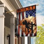Proud Lineman Flag