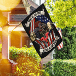 Proud Military Veteran Flagwix� Home Of The Free Because Of The Brave Flag