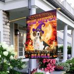 Halloween. Beware Of The Beagle Flag