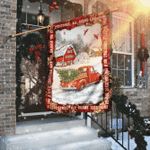 All Roads Lead Home For Christmas Flag