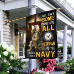 All Gave Some Some Gave All Veteran of The United States Navy Flag MLH1686Fv2