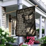 Jesus Is My God My Lord My Savior Flag v1