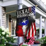 Texas Strong Longhorn Flag