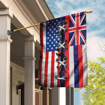 Hawaii American Flag